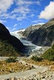 franz glaciär joseph Royaltyfri Fotografi