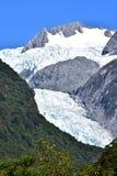 Franz josef glaciär royaltyfri bild