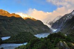 Franz Josef Glacier. In New Zealand stock images