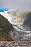 Franz Josef Glacier in Nationalpark Westland Lizenzfreies Stockbild
