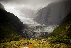 Franz Josef Glacier, New Zealand Royalty Free Stock Photos