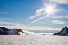 Franz Josef Glacier New Zealand Royalty Free Stock Photo