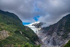 Franz Josef Glacier, New Zealand. Franz Josef Glacier, Located in Westland Tai Poutini National Park on the West Coast of New Zealand royalty free stock photo