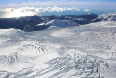 Franz Josef glacier, New Zealand Stock Image