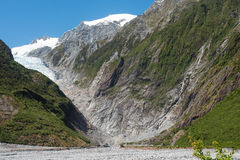 Franz Josef Glacier, New Zealand Stock Photography