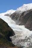 Franz Josef Glacier, Nieuw Zeeland Royalty-vrije Stock Foto's