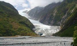 Franz Josef Glacier in Nieuw Zeeland Royalty-vrije Stock Foto