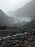 Franz Josef Glacier, Nieuw Zeeland Royalty-vrije Stock Fotografie