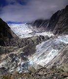 Franz Josef Glacier Tai Poutini National parkerar den nyazeeländska södra ön royaltyfria bilder