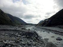 Franz Josef Glacier Valley South Island Nova Zelândia Foto de Stock
