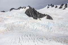 Franz Josef Glacier van hoogste mening Royalty-vrije Stock Afbeeldingen