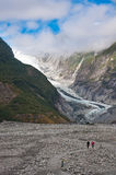 Franz Josef Glacier in Westland National Park Royalty Free Stock Images
