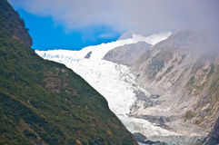 Franz Josef Glacier in Westland National Park Royalty Free Stock Image