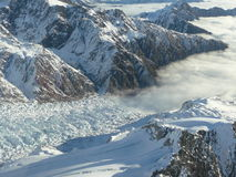 Franz Josef Ice Fall Stock Images