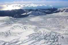 franz Josef nowej Zelandii lodowiec obraz stock