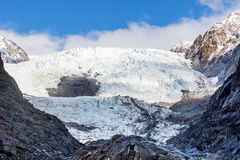 Franz joseft glacier important traveling destination in south is Royalty Free Stock Photo
