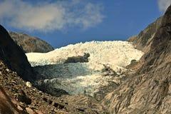 Franz Josep Glacier imagenes de archivo