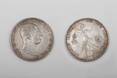 Franz Joseph coin Royalty Free Stock Photo
