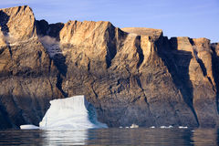 Franz Joseph Fjord - Eastern Greenland Royalty Free Stock Photo