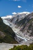 Franz Joseph glaciär Fotografering för Bildbyråer