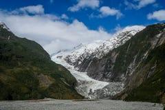 Franz Joseph glaciär Royaltyfri Bild
