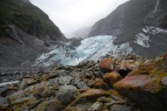 Franz Joseph Glacier Arkivbild