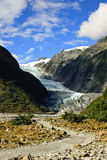 Franz Joseph Glacier. Path leading to Franz Joseph Glacier, New Zealand South Island royalty free stock photography