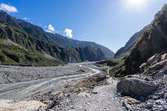 2015 Franz Joseph glacier Stock Photography