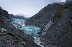 Franz Joseph Glacier, Nuova Zelanda Fotografia Stock Libera da Diritti