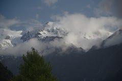 Franz Joseph lodowiec A Zdjęcia Royalty Free