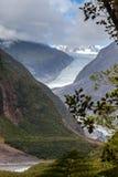 Franz Joseph lodowiec Obrazy Royalty Free