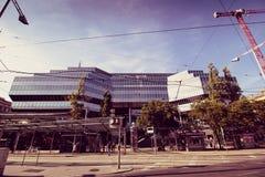Franz-Joseph Station i Wien, Österrike Fotografering för Bildbyråer