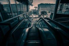 Franz-Joseph Station i Wien, Österrike Arkivfoto