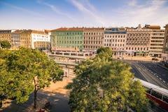 Franz-Joseph Station i Wien, Österrike Royaltyfri Fotografi