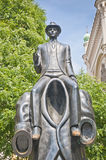 Franz Kafka雕象 图库摄影