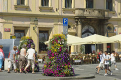 Franz Kafka Square Fotografering för Bildbyråer