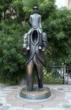 Franz Kafka Statue a Praga, repubblica Ceca Fotografia Stock