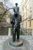 Franz Kafka Statue - Prague, Czech Republic Stock Images