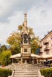 Franz Karl fountain Franz Karl Brunnen in Bad Ischl, Austria Royalty Free Stock Images