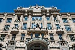 Franz Liszt Academy της μουσικής στη Βουδαπέστη στοκ φωτογραφία