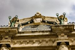 Franz Liszt Academy van Muziek Royalty-vrije Stock Foto's