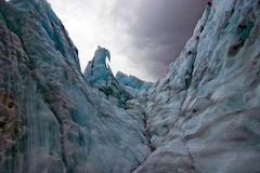franz lodowiec Josef Fotografia Royalty Free
