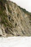 franz lodowiec Josef nowy Zealand Obrazy Royalty Free