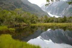 franz lodowiec Josef nowy Zealand Fotografia Royalty Free