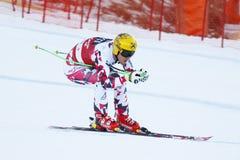 FRANZ Max in FIS Alpien Ski World Cup - super-g van 3de MENSEN Royalty-vrije Stock Afbeeldingen