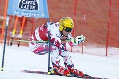FRANZ Max in FIS alpiner Ski World Cup - der SUPER-G der 3. MÄNNER Lizenzfreie Stockfotos
