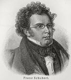 franz schubert Obraz Royalty Free