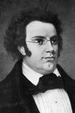 Franz Schubert royaltyfria bilder