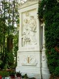Franz Schubert grave Royalty Free Stock Photography