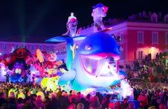 Franz?sischer Karneval von Nizza lizenzfreies stockbild